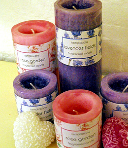03 scented candles