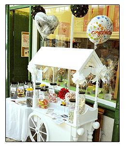 Victorian Sweet Cart
