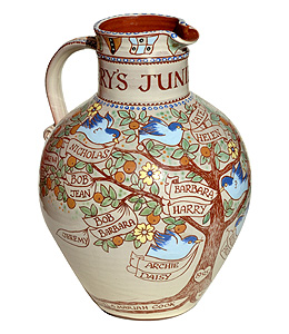 Family Tree Jug