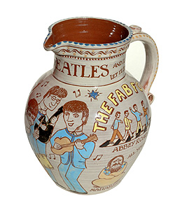 Beatles Themed Jug