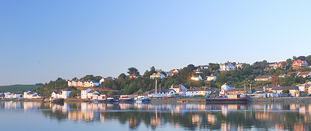 Bideford on the Torridge River