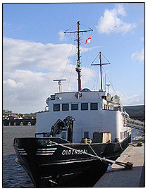 MS Oldenburg - Lundy Ferry