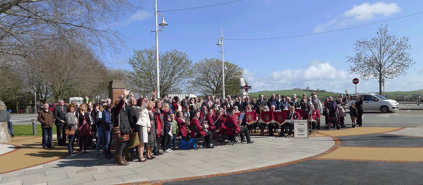 Port Memorial Opening