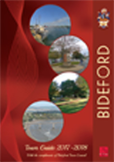 Bideford Town Guide front page