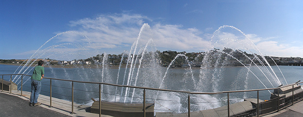 The Fountain on Bideford Quay