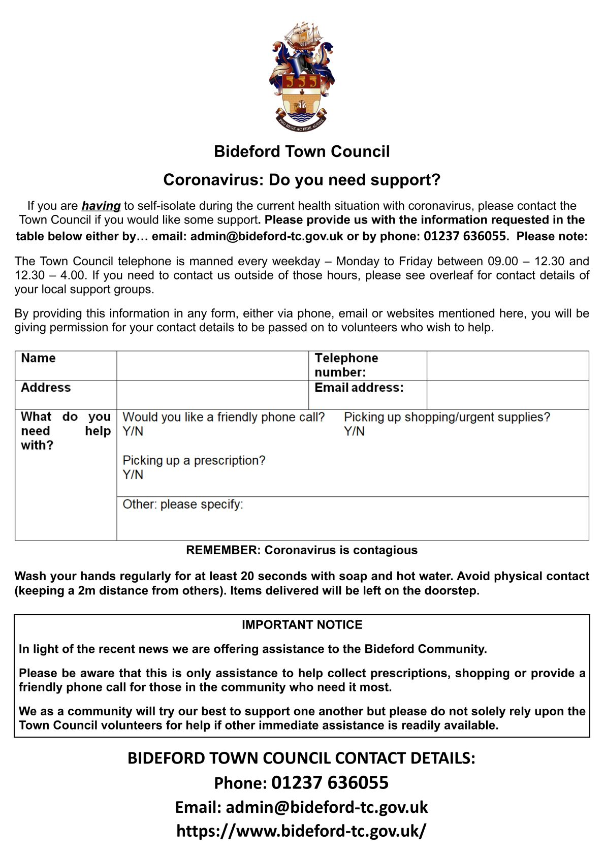 Easter support leaflet pg.1