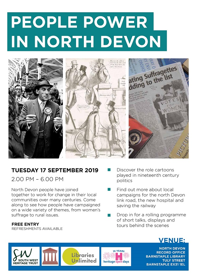 People Power of North Devon poster1