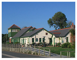 The cafe at Fremington Quay