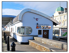 Lundy and Oldenburg Ticket Office - Bideford