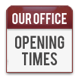 Our Office Opening Times