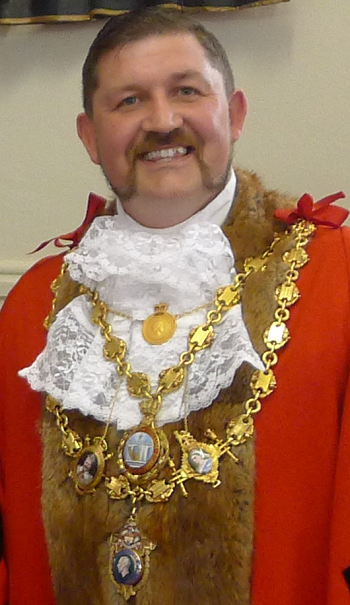 Mayor of Bideford Cllr Dermot McGeough