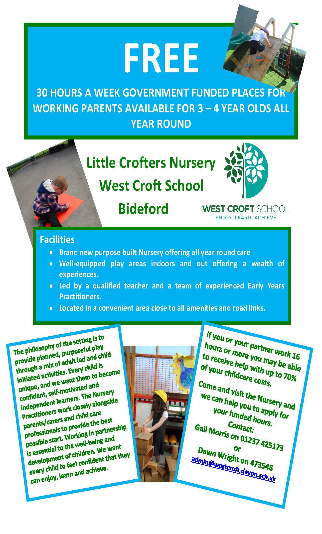 Little Crofters Nursery Advert 002