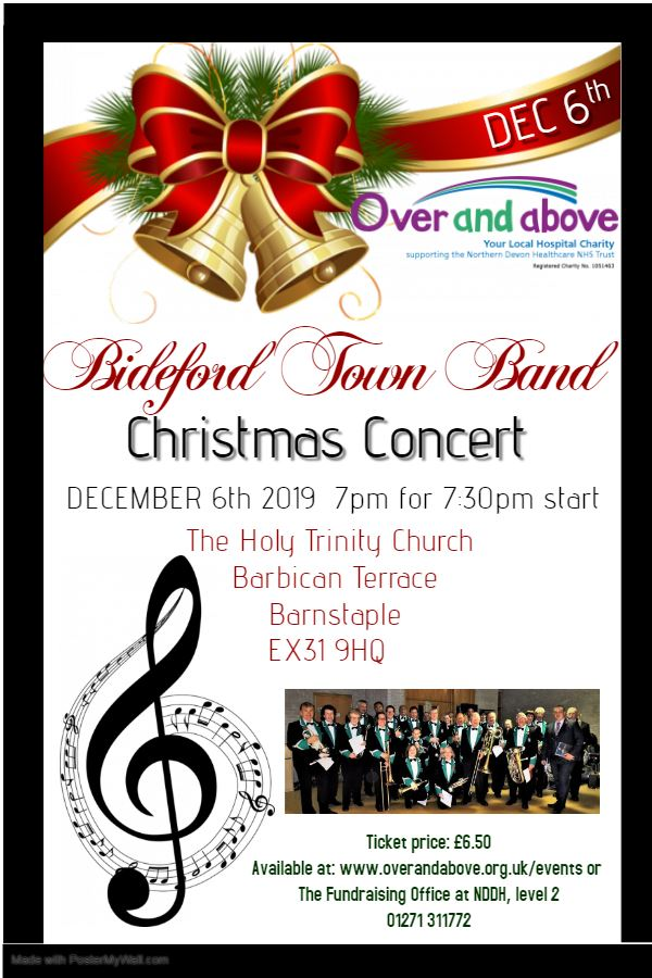 Bideford Town Band Christmas Charity Concert 101206