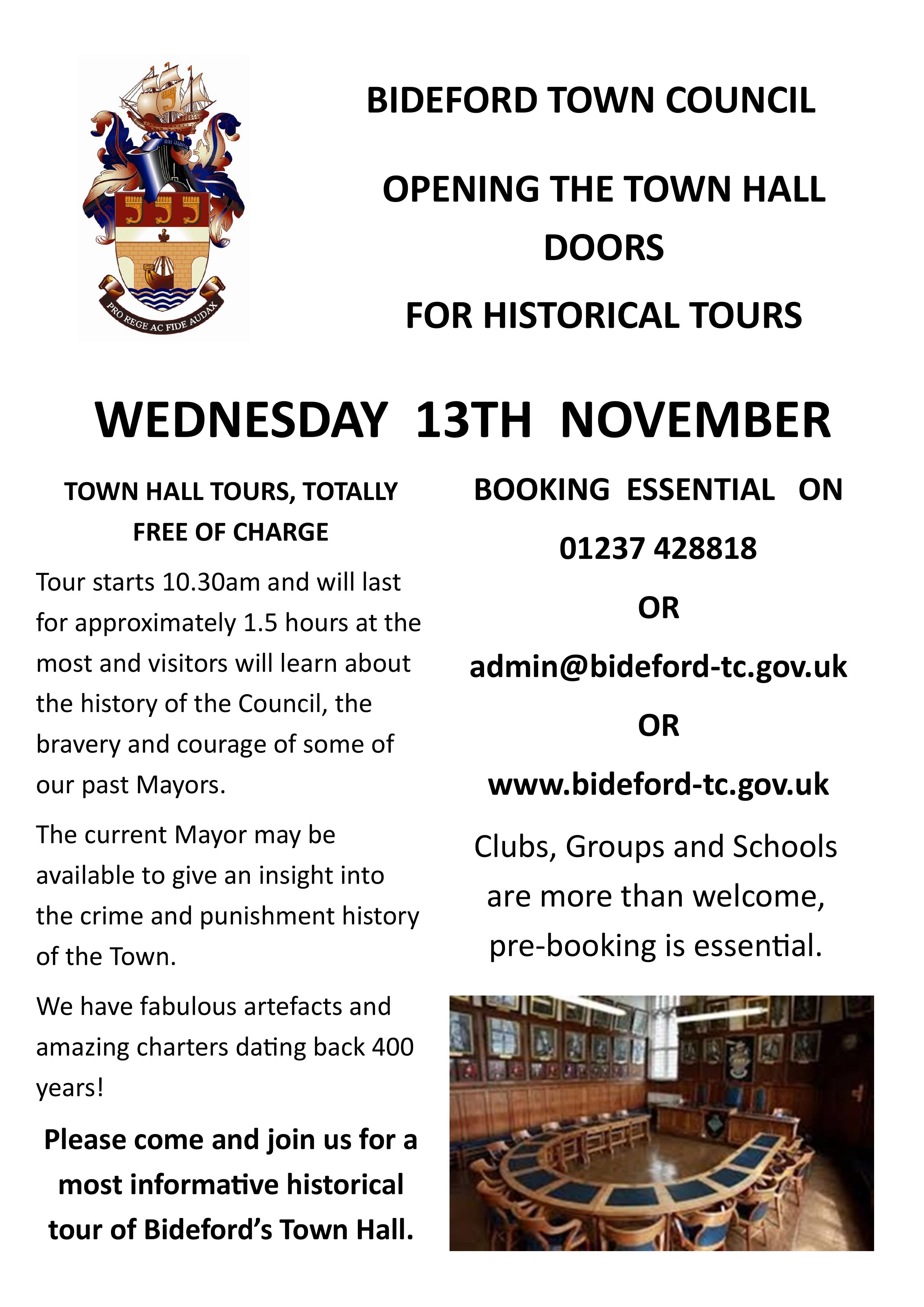 Town Hall Tours