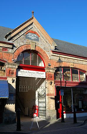 pannier market entrance